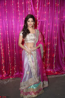 Ritika Sing in Golden Pink Choli Ghagra Cute Actress Ritika Sing ~  012.JPG