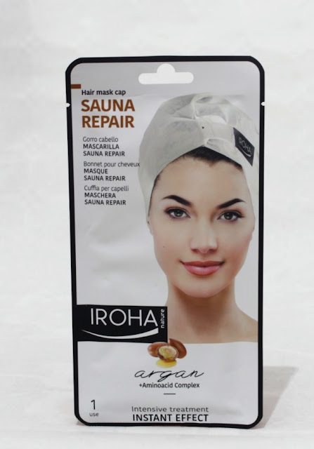 Mascarilla capilar Sauna Repair Iroha Nature