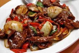 Resep Masakan Indonesia Daging Sapi Lada Hitam