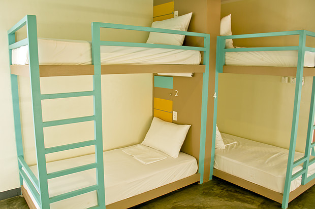 Dorm Rooms in Boracay Hostels