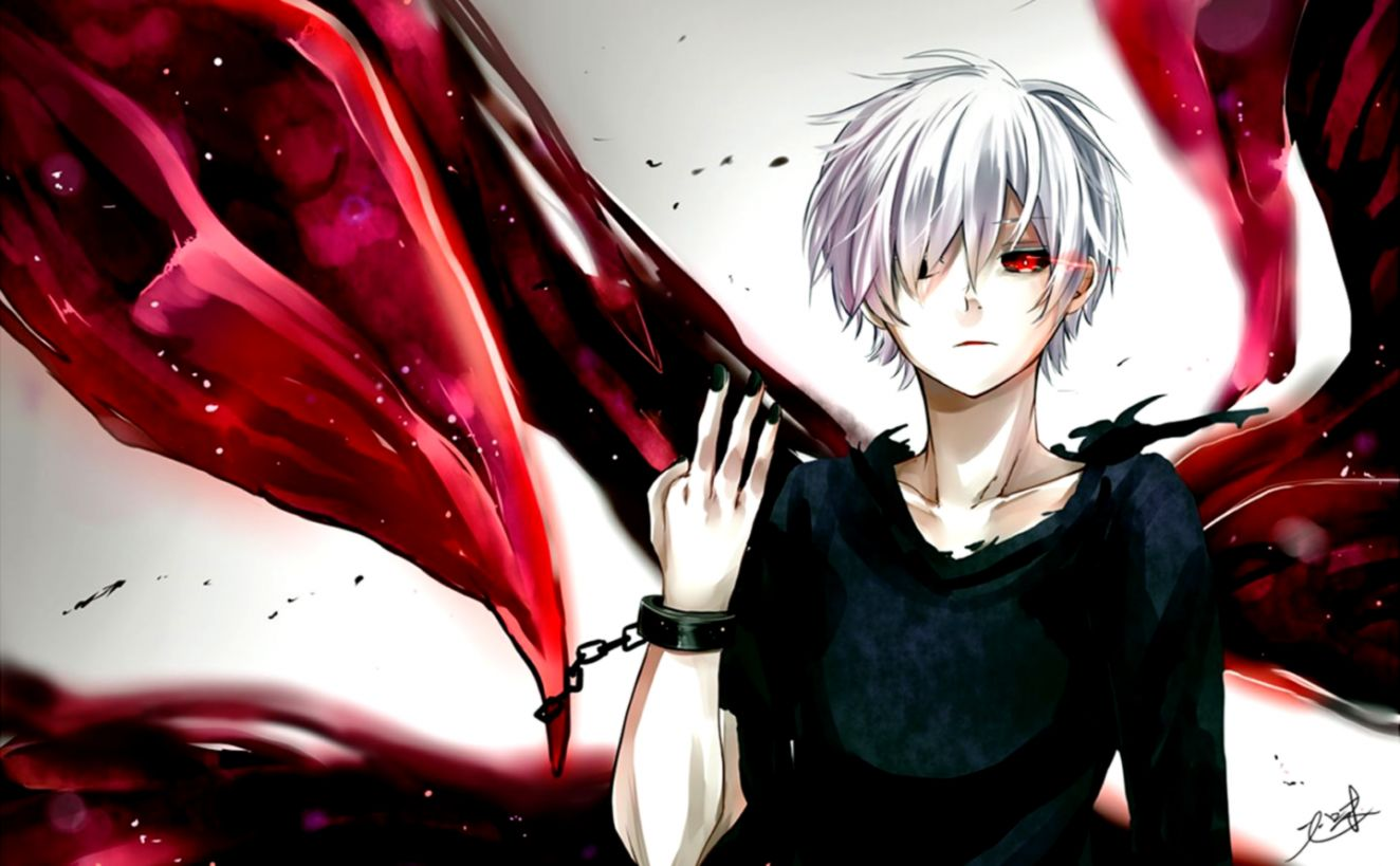 Tokyo Ghoul Kaneki Wallpaper Image Wallpaper Collections