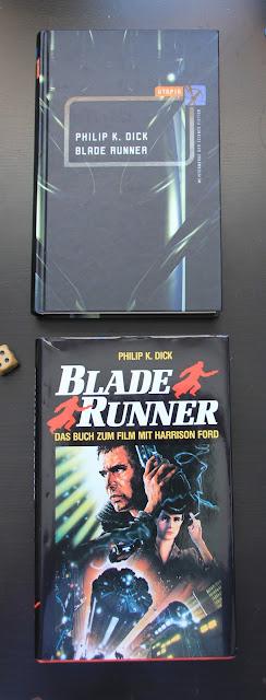 Oben R und M Medien (2003) und unten Bertelsmann Buchclub (1991): Blade Runner