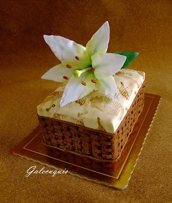 lilium hecho a mano pasta de flores