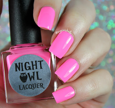 Night Owl Lacquer Persist | Light & Bright Neon Creams