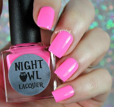 Night Owl Lacquer Persist | Light & Bright Neon Creams
