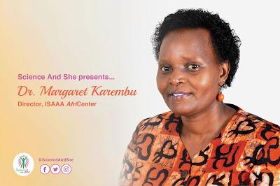 Science and She: Dr. Margaret Karembu