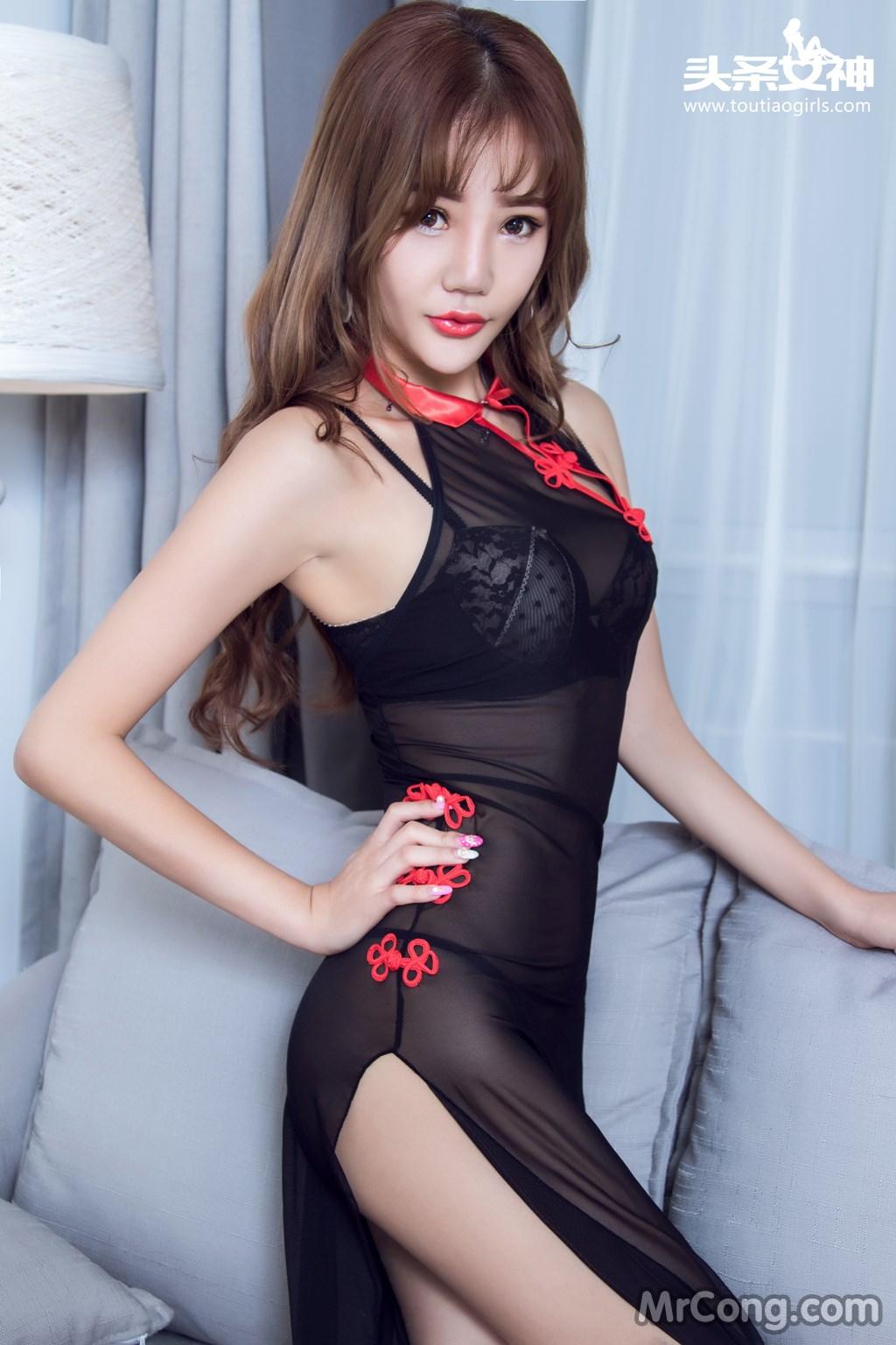 Image MrCong.com-TouTiao-2016-12-21-Ya-Xin-001 in post TouTiao 2016-12-21: Người mẫu Ya Xin (亚鑫) (22 ảnh)