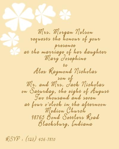 FULL WALLPAPER: Wedding card sayings