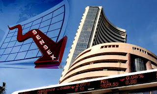 Sensex Nifty down