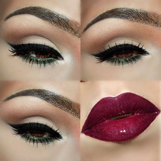 25 Gorgeous Eye And Lip Makeup Ideas