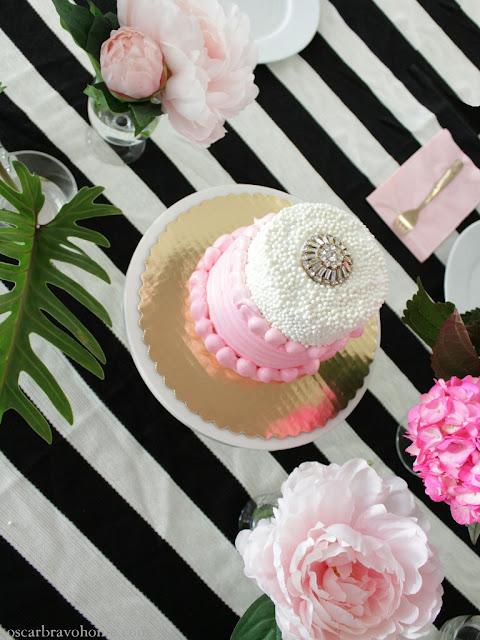birthday brunch cake