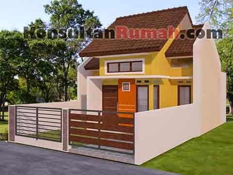5 Contoh Gambar Desain Rumah Minimalis Type 36