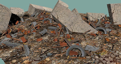rubble color - large