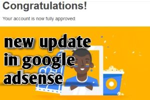Google adsense new update