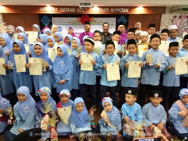 Majlis Anugerah Kecemerlangan dan Khatam Al-Quran SAR KAFA Al Hafizin Bukit Setongkol
