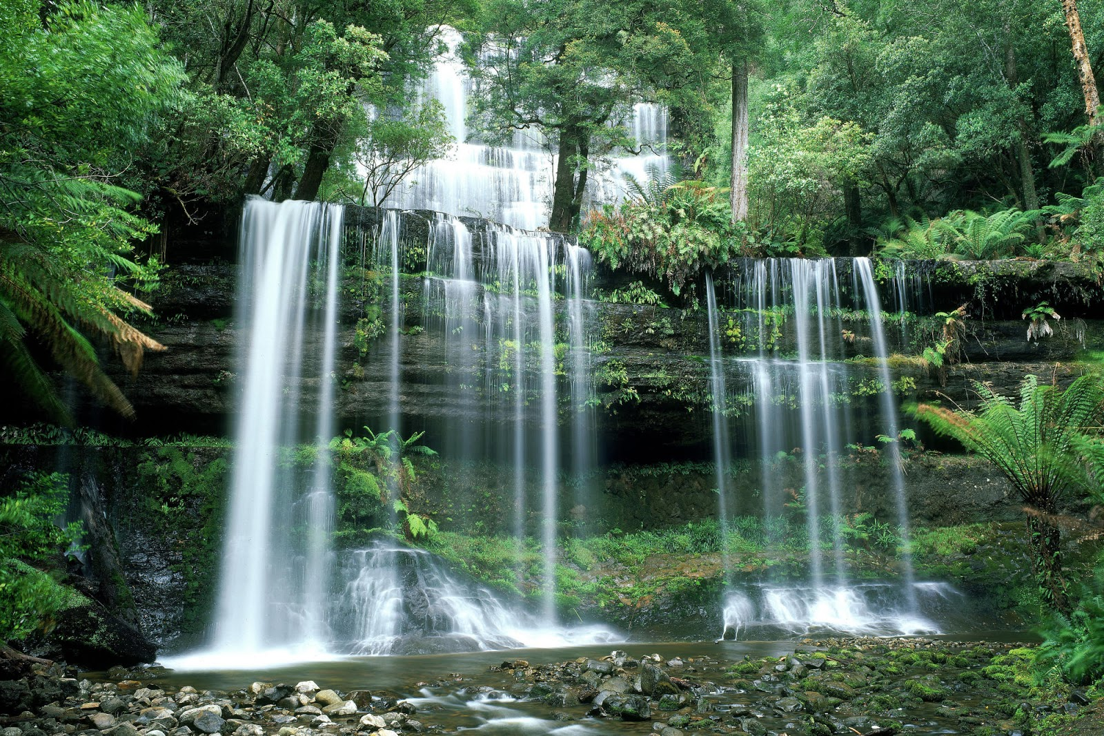 Free Wallpaper Download: Waterfalls Wallpaper And Desktop