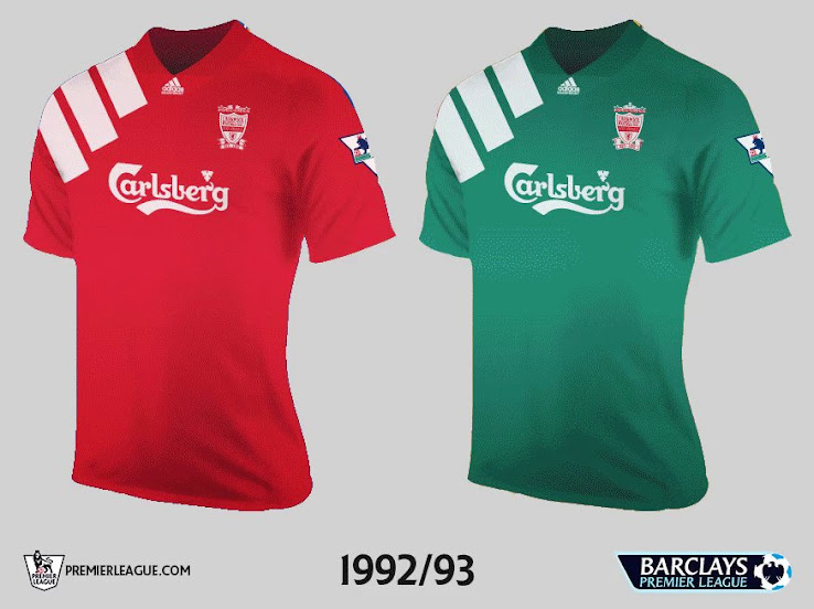 sale retailer 94d1d e12ea All 20 Teams' First Premier League Kits - Footy Headlines