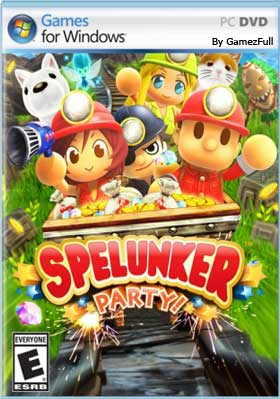 Descargar Spelunker Party pc full no español por mega y google drive.