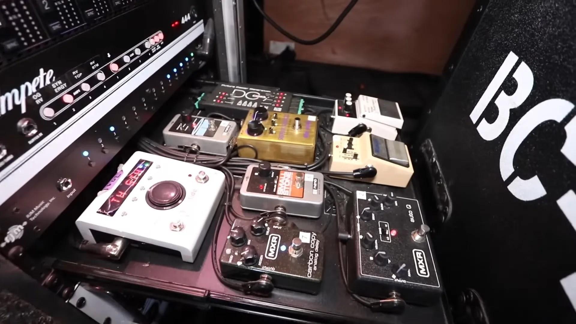 Efek pedal Jim Root