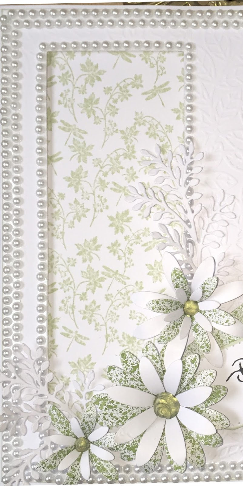 Embossed Pearlized Paper Cardstock