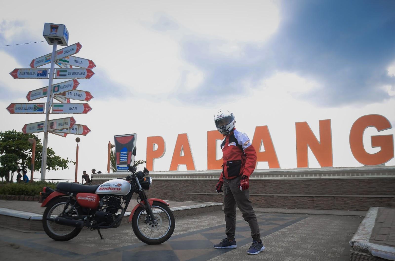Salah Satu Riders Pertamina Enduro Go Out Adventure Berasal Dari Lampung