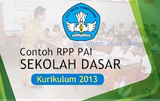 Download RPP SD Kurikulum 2013 Mapel Pendidikan Agama Islam (PAI) Tahun 2018/2019