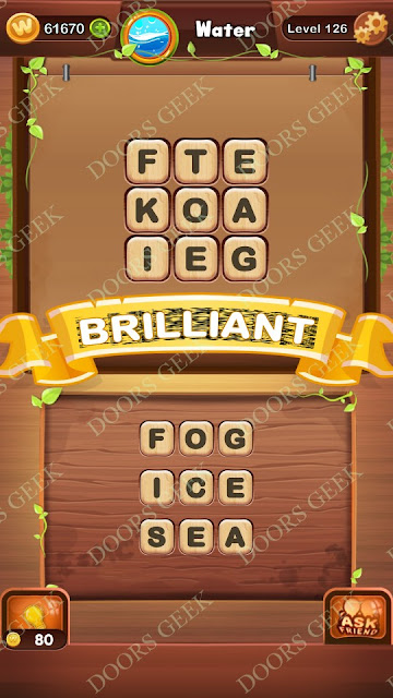 Word Bright Level 126 Answers, Cheats, Solutions, Walkthrough for android, iphone, ipad and ipod