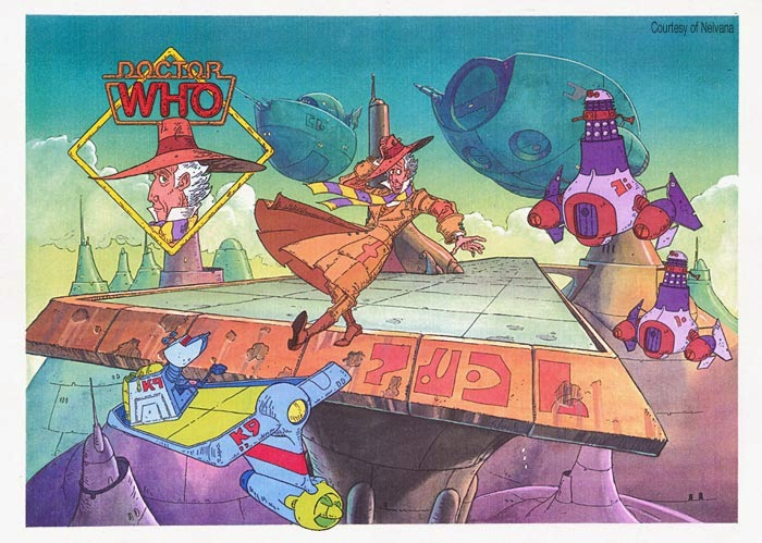 The Aborted Doctor Who Animated Series Warped Factor Words In The Key Of Geek