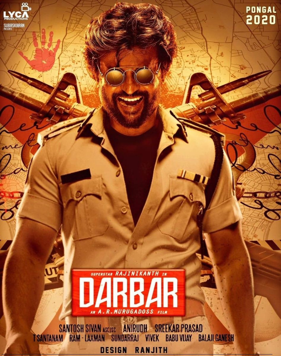 Darbar 2019 Hindi ORG Dual Audio 550MB HDRip 480p ESubs