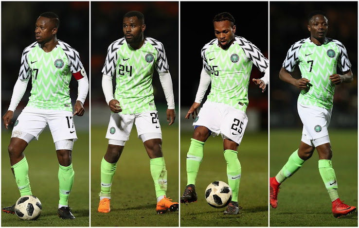 b773be2f7 The Super Eagles debuted their fresh 1994-inspired home shirt in a friendly  with Serbia back in March and it looked every bit as good as we thought it  would ...