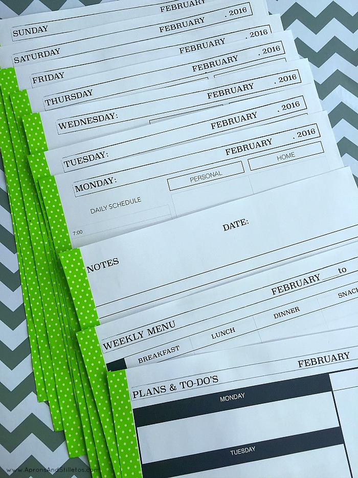 Planner Printable