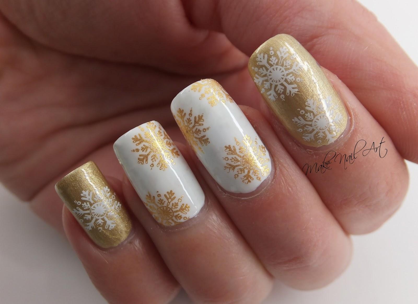 Video tutorial Make Nail Art December 2017