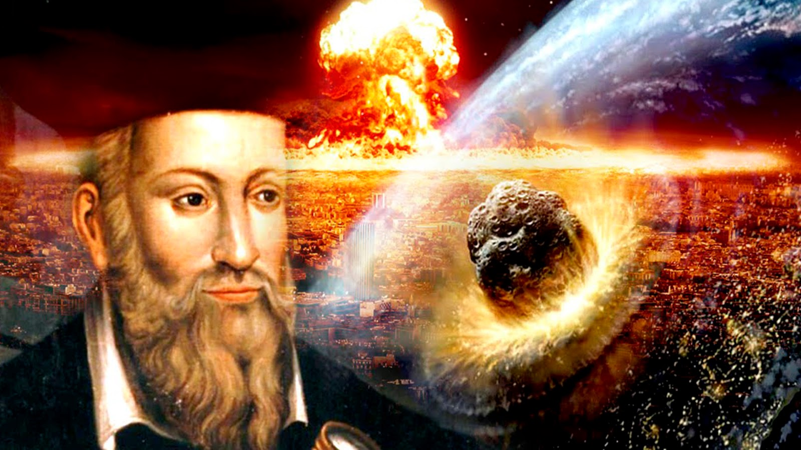Conoce las terribles predicciones de Nostradamus para 2018