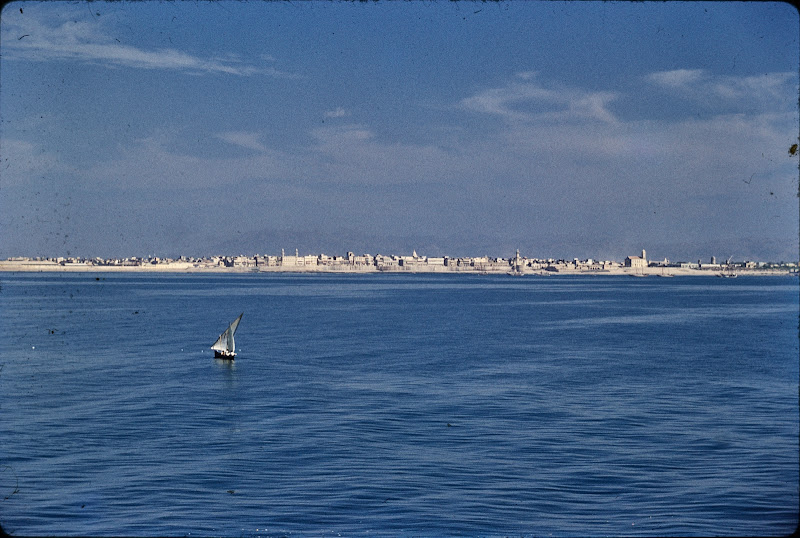 View of Porbandar from Sea, Gujarat - c1950-60's