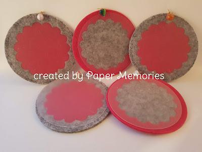 Filz, crafts, Babenhausen, Paper Memories, Untersetzer, kreativ