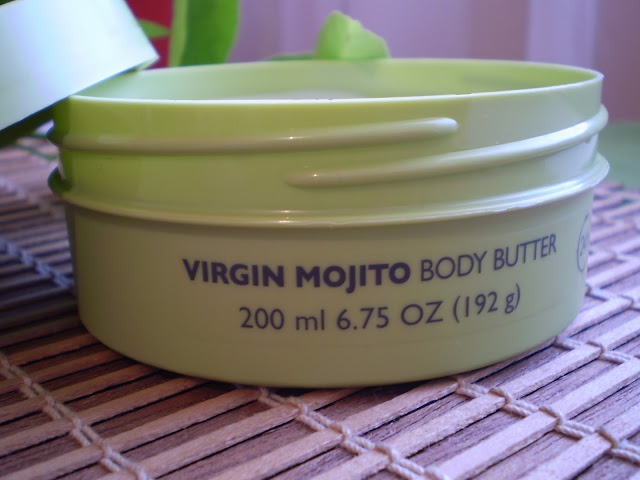 The Body Shop | Virgin Mojito Body Butter | Packaging