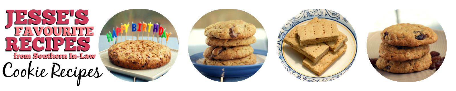 Healthy Cookie Recipes - Gluten Free, Low Fat, Sugar Free