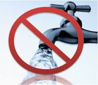 12 hour water cut in several areas on Saturday