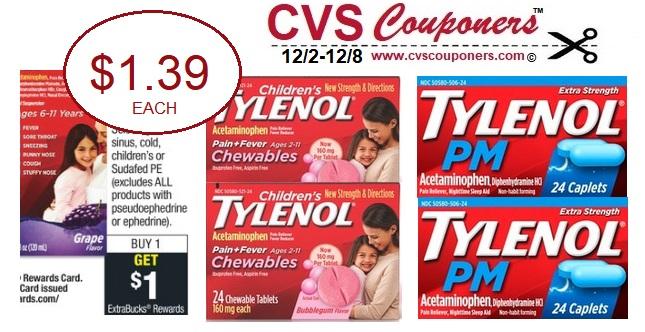 http://www.cvscouponers.com/2018/12/Tylenol-Pain-Relief-CVS-deals.html
