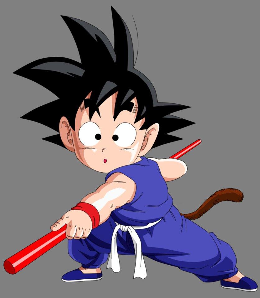 DP BBM Son Goku Kecil