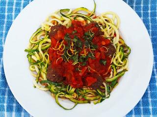 Courgetti Meatballs Recipes