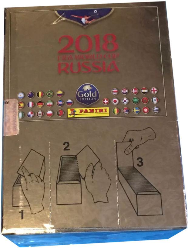 e3b28d977 Panini - FIFA World Cup Russia 2018 Sticker Collection (06) - 100-packet Box  - Switzerland