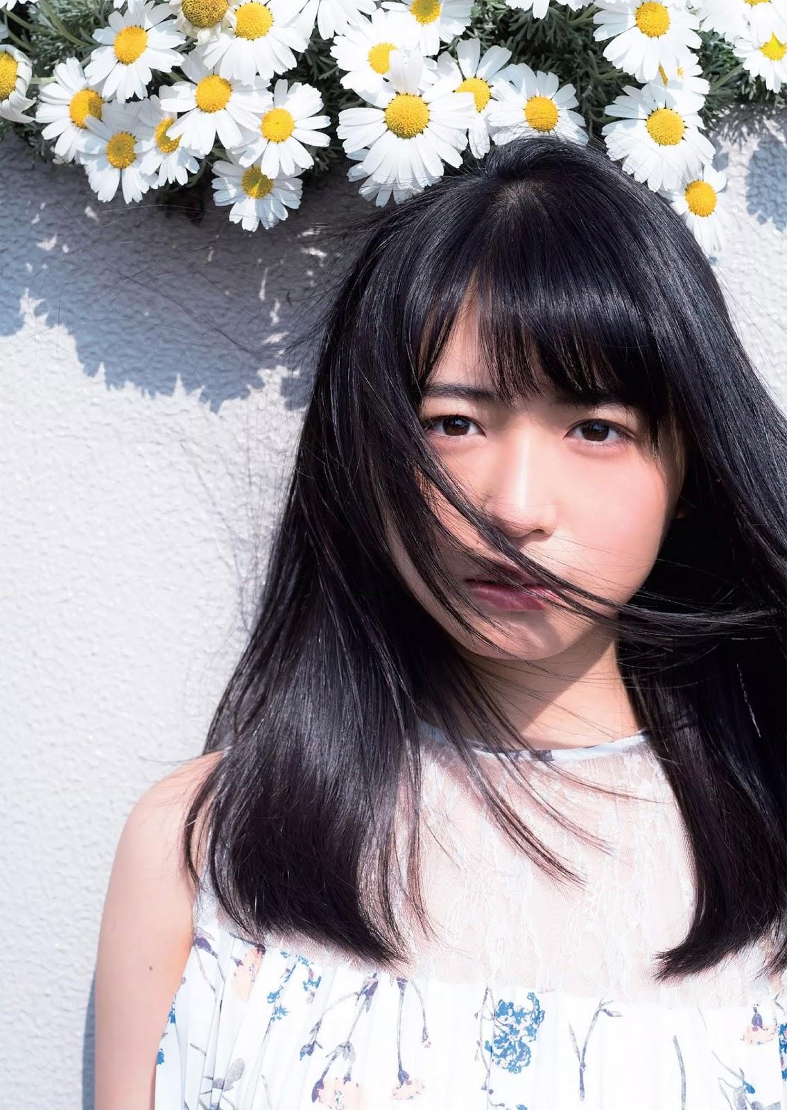 Nagahama Neru 長濱ねる, Weekly Playboy 2018 No.17 (週刊プレイボーイ 2018年17号)