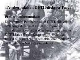 Sejarah Gerakan Darul Islam/Tentara Islam Indonesia (DI/TII) yang Pernah Ada di Indonesia Beserta Penjelasannya Terlengkap