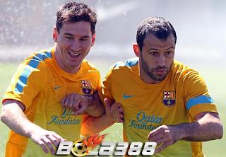 Agen Bola Terpercaya : Ditawari Ekseskusi Pinalti Oleh Messi, Javier Mascherano Menolak