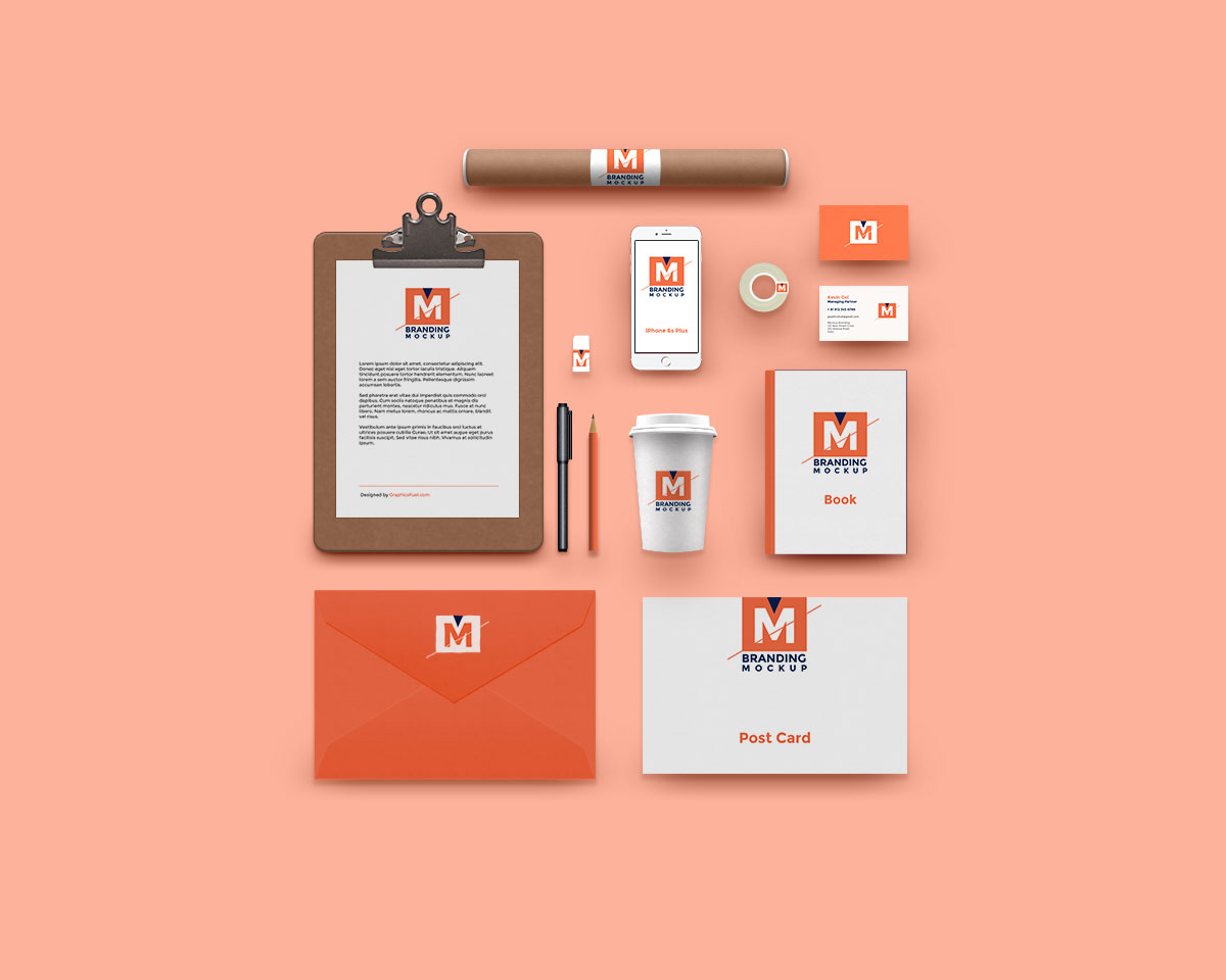 Stationery Branding Mockup Bundle