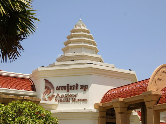 Angkor National Museum in Siem Reap Cambodia