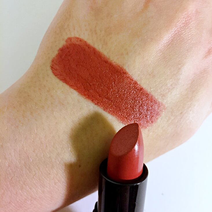 e.l.f. Velvet Matte Lipstick Brick swatch
