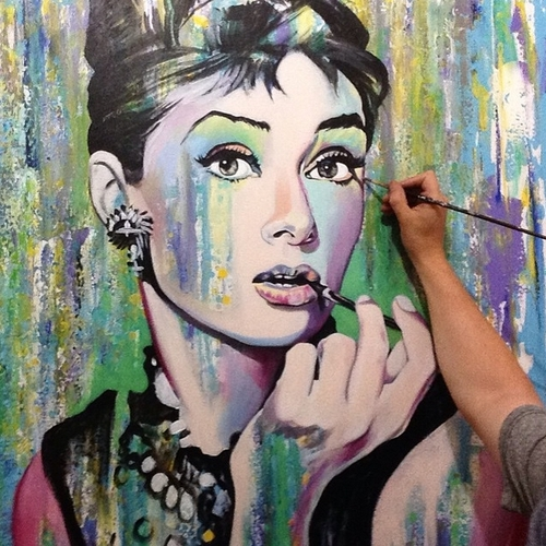 06-Audrey-Hepburn-Jonathan-Harris-Celebrity-Paintings-Images-and-Videos-www-designstack-co