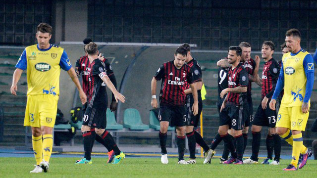 [Video] Cuplikan Gol Chievo 1-3 AC Milan (Liga Italia)